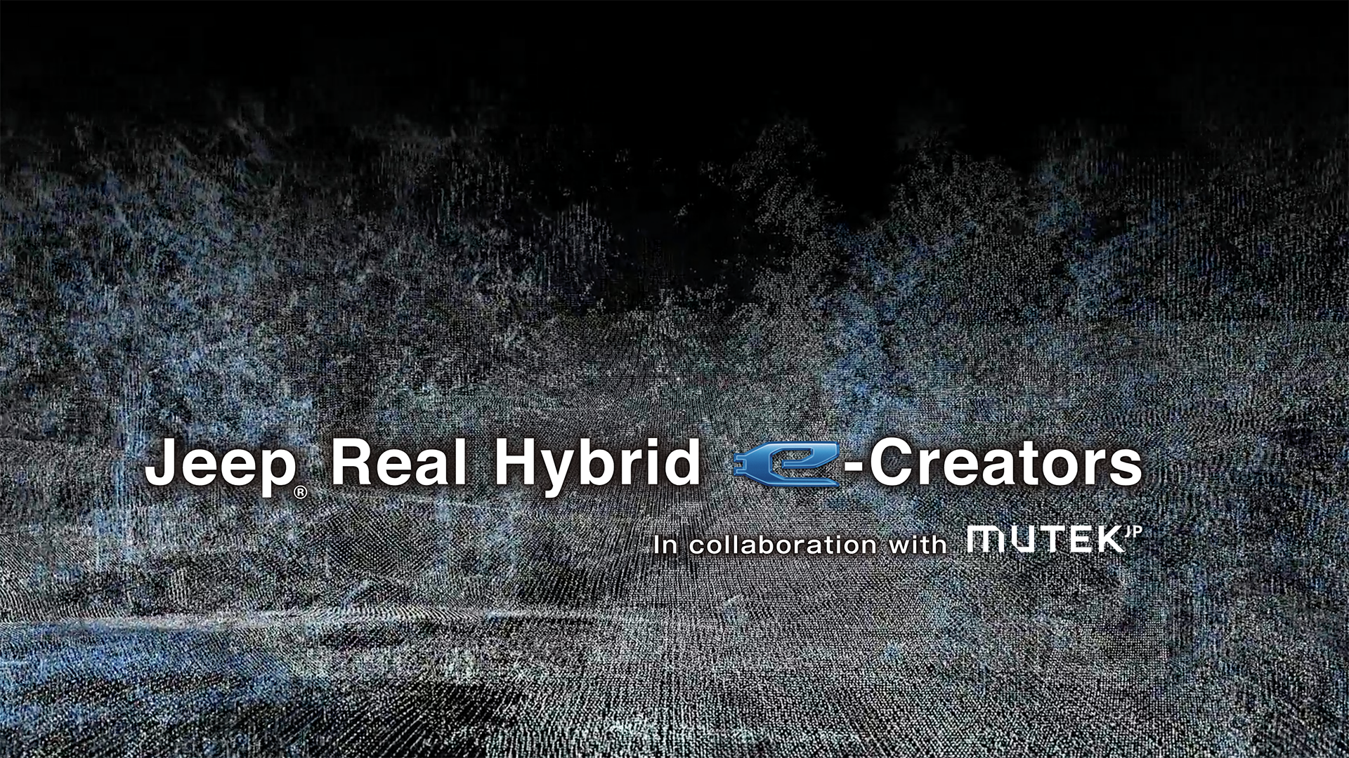 Jeep® Real Hybrid e-Creators In collaboration with MUTEK.JP
